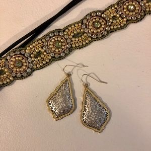 KENDRA SCOTT EARRINGS Addie Gold Drop Earrings